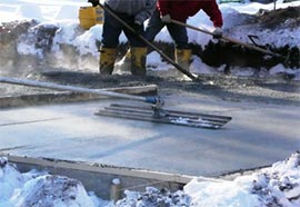 Cold Concreting