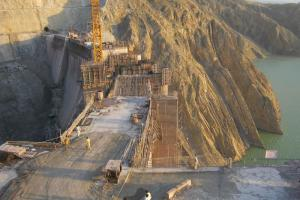 Gomal Zam Dam Construction
