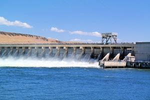 Spillways in a Dam